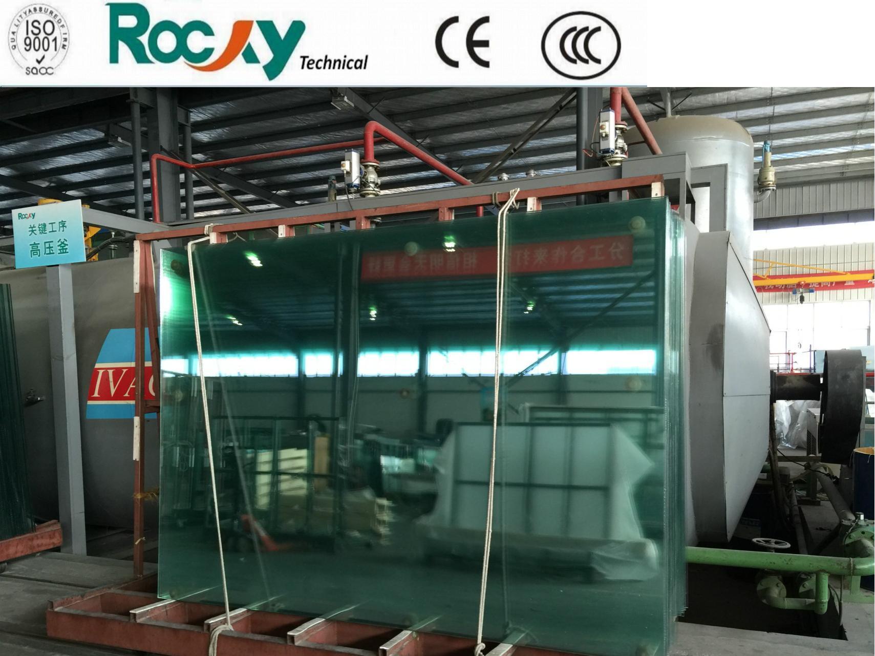 USA Solutia PVB Laminated Glass