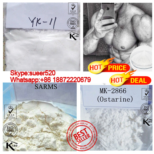 99% Purity Good Sarm Raw Powder Yk 11