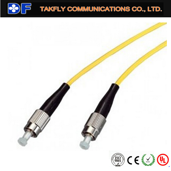 Optical Fiber Patch Cord with FC Connectors