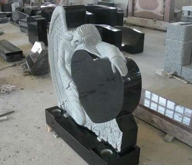 Granite Monument Tombstone for American and European Market (LY-231)