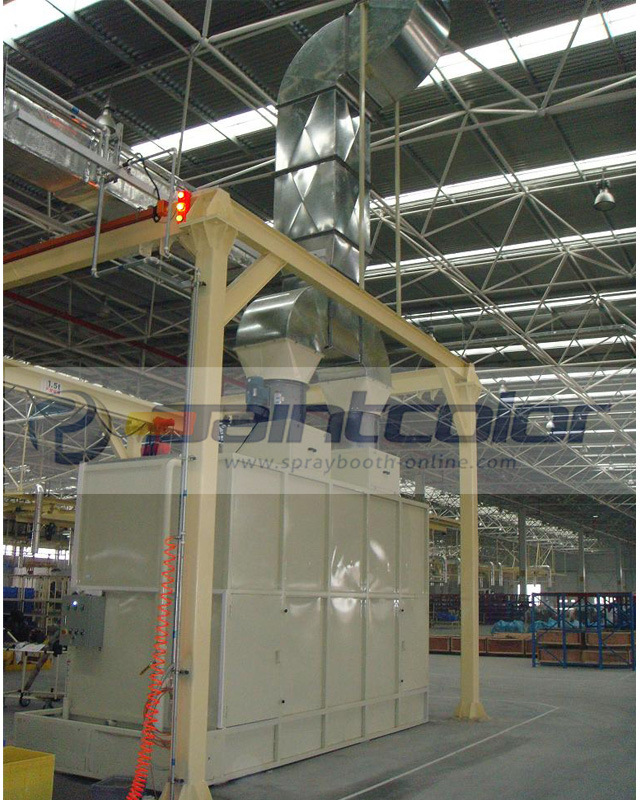 3-3-4m Water Curtain Booth