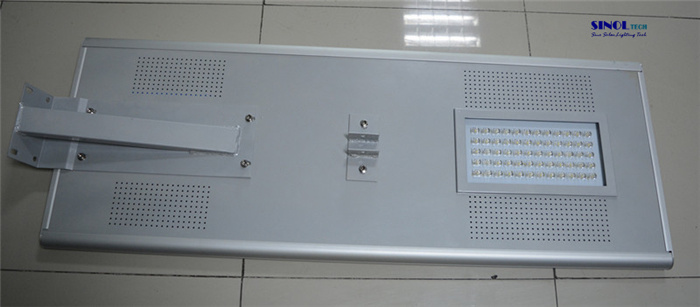 80W Lampara Solar LED Integrada All-in-One