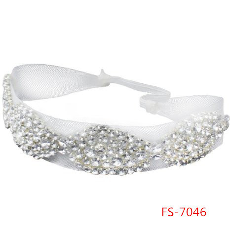 Fashion Rose Flower Elastic Hair Band Headband