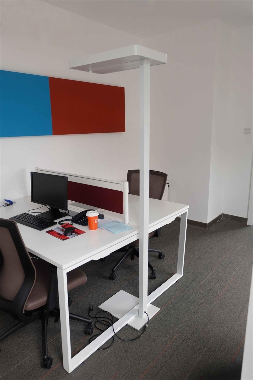 Guangzhou Uispair Modern Office 4000K Ra 80 LED Floor Lamp