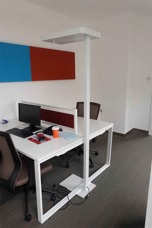Uispair Modern Office 4000k Ra 80 LED Floor Lamp