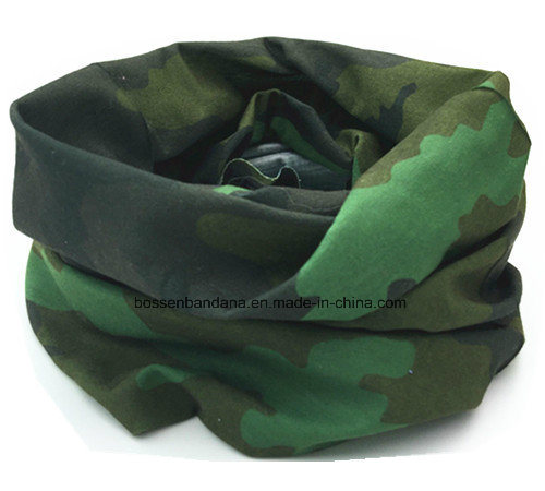 OEM Produce Army Green Camouflage Printed Sports Tubular Buff Headwear