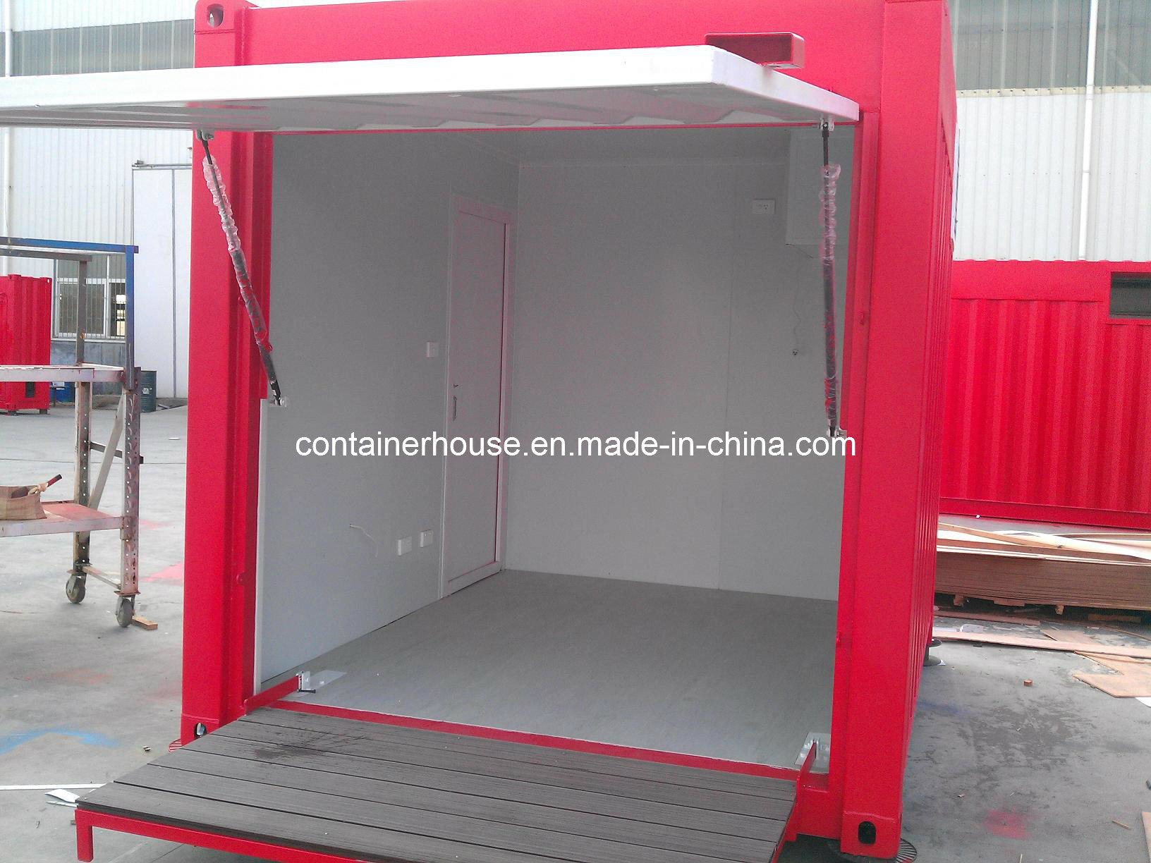 china 10 ft folding container shop photos pictures. Black Bedroom Furniture Sets. Home Design Ideas