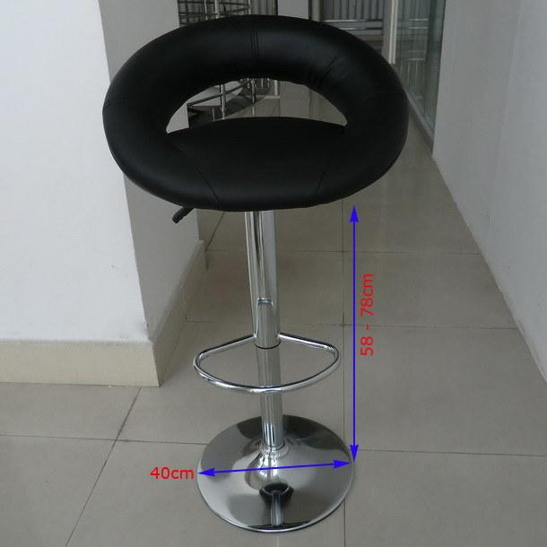 China Pu Leather Adjustable Kitchen Breakfast Counter