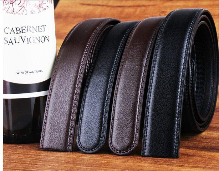 Men Leather Ratchet Belts (A5-130610)