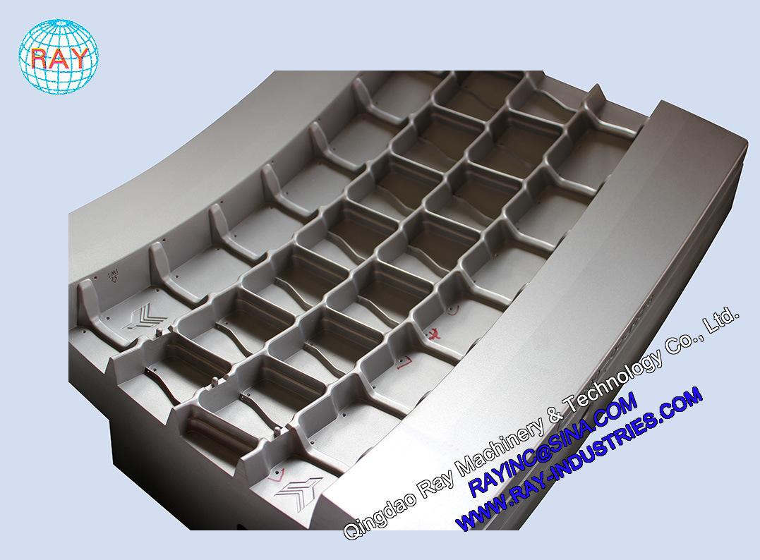 Steel / Aluminum Aluminium TBR Segments Tyre Tire Mould