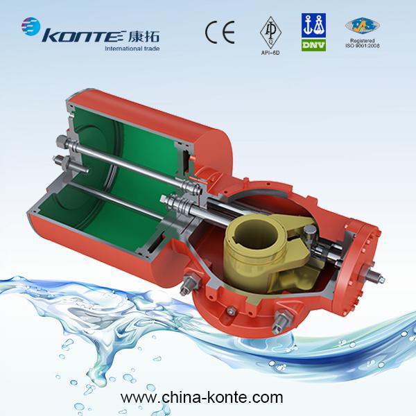 Pneumatic (Hydraulic) Scotch Yoke Type Pneumatic Actuator