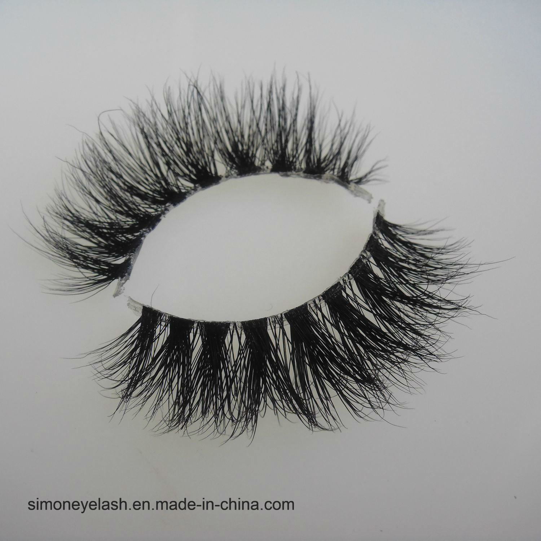 False Lashes Natural Mink Hair Fake Cosmetics 3D Eyelash
