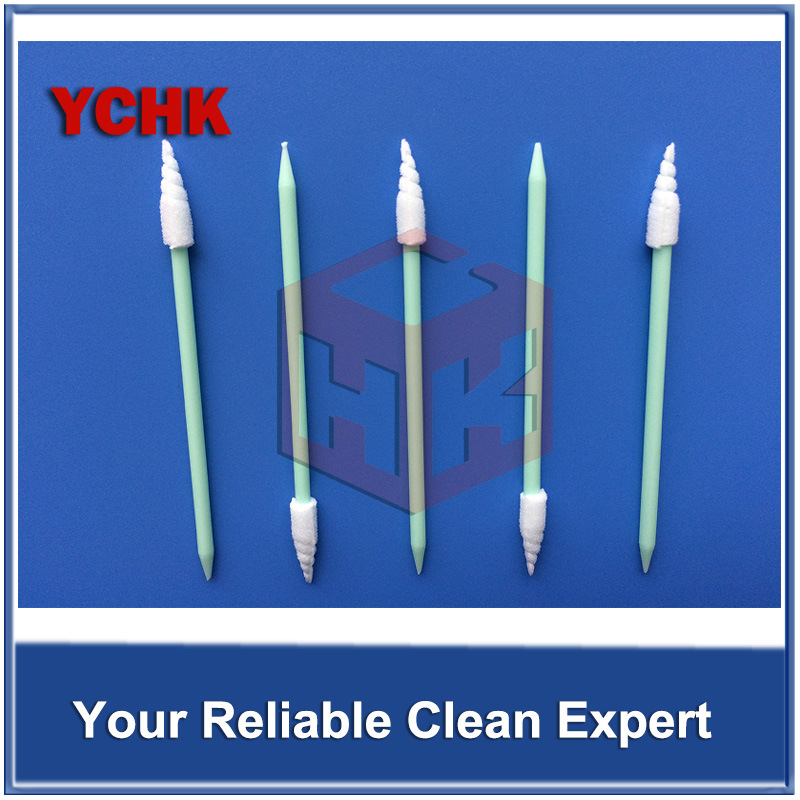Cleanroom Consumable Foam Swab mobile Phone And Computer Cleaning Swab