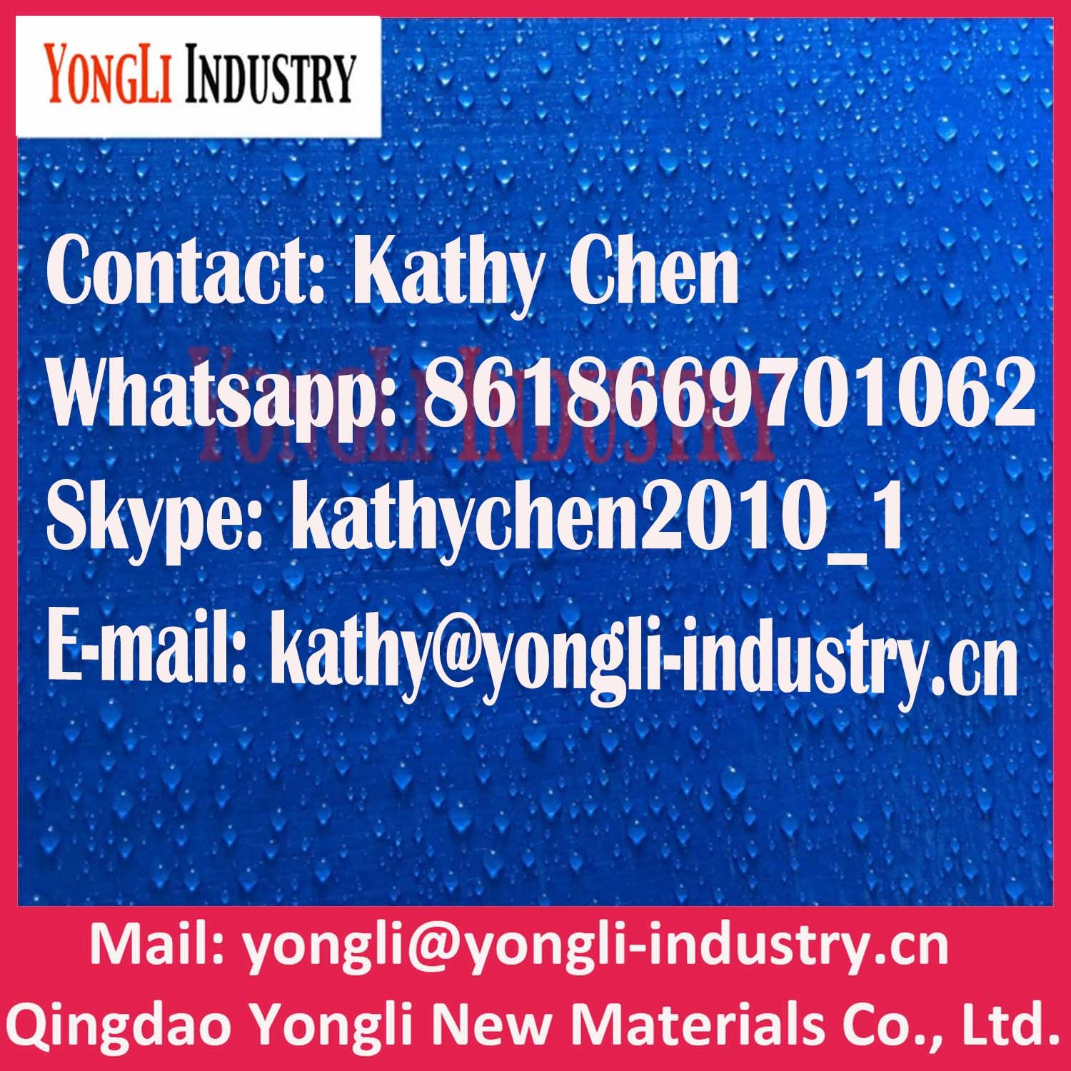 80GSM-320GSM China PE Tarpaulin Factory
