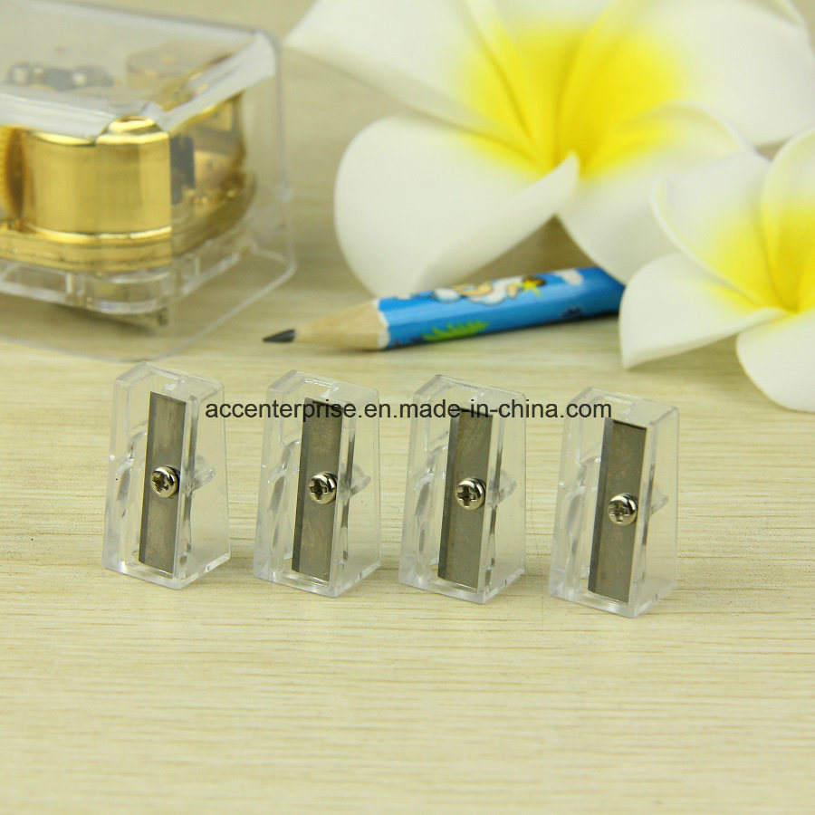 Transparent One Hole Sharpener