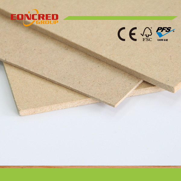 2mm-30mm Plain MDF Fiber Board Raw MDF Board Melamined Veneered MDF