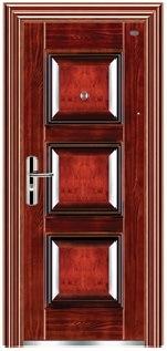 High Quality Steel Security Door for Villa/Garden Steel Door/ Steel Glass Door