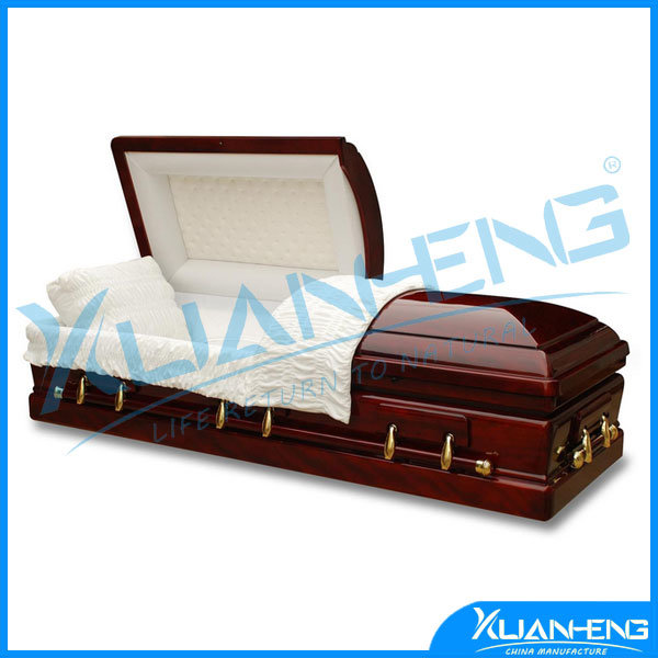 Wooden Coffin & Casket for Funeral