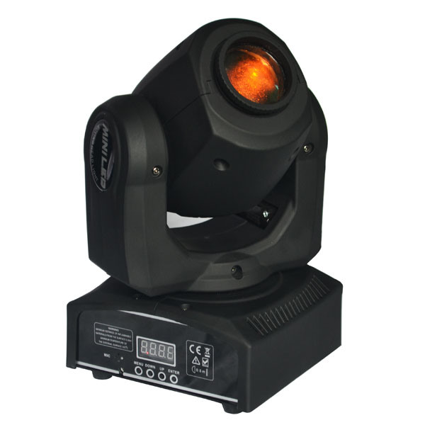 Ultra-Compact Mini LED Moving Head Spot Gobo Light