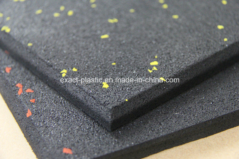China 10mm Thick Rubber Crossfit Mats Floor Tiles