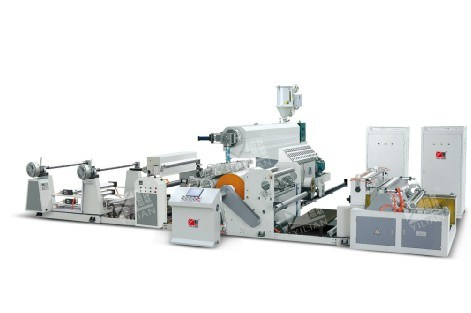 SJFM 1100-1800 High Speedy Extrusion Film Laminating Machine, PE Coating Machine