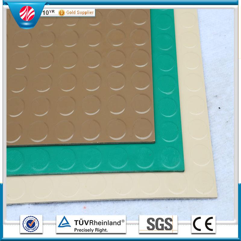 Anti-Slip Rubber Flooring Airport Fire-Resistant Rubber Flooring