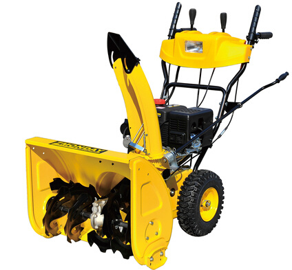 6.5HP Gasoline Snow Blower with Electric Start AC Start