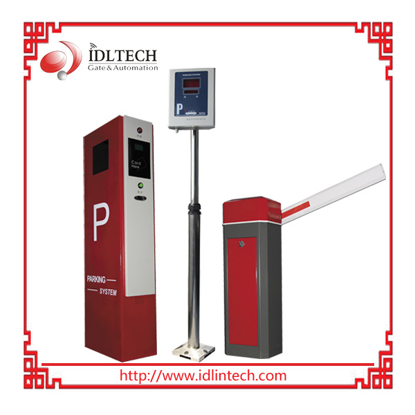 Non-Stop Smart Parking System with RFID Reader and Barrier Gate