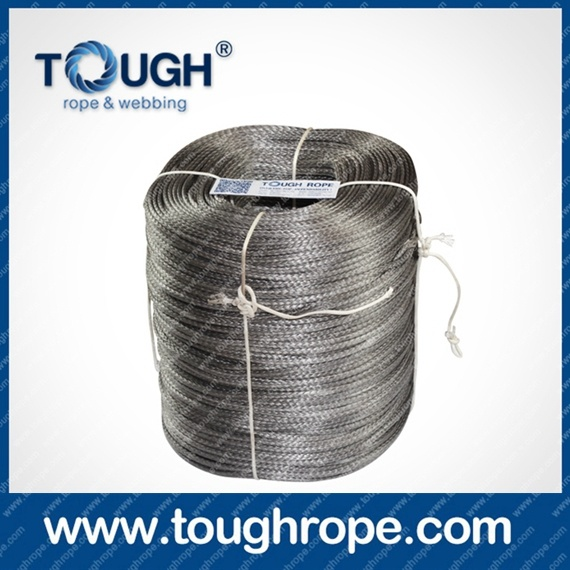 Tr-08 Winch for Boat Trailer Dyneema Synthetic 4X4 Winch Rope with Hook Thimble Sleeve Packed as Full Set