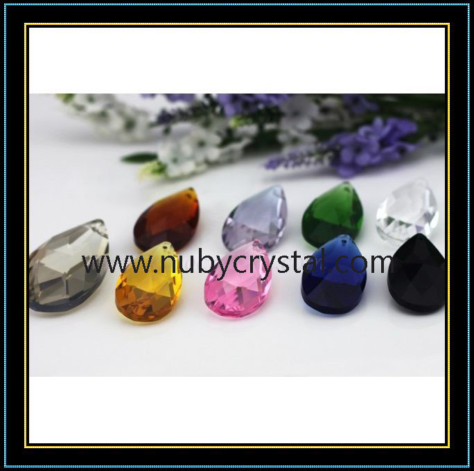 Almond Shape Crystal Lighting Bead
