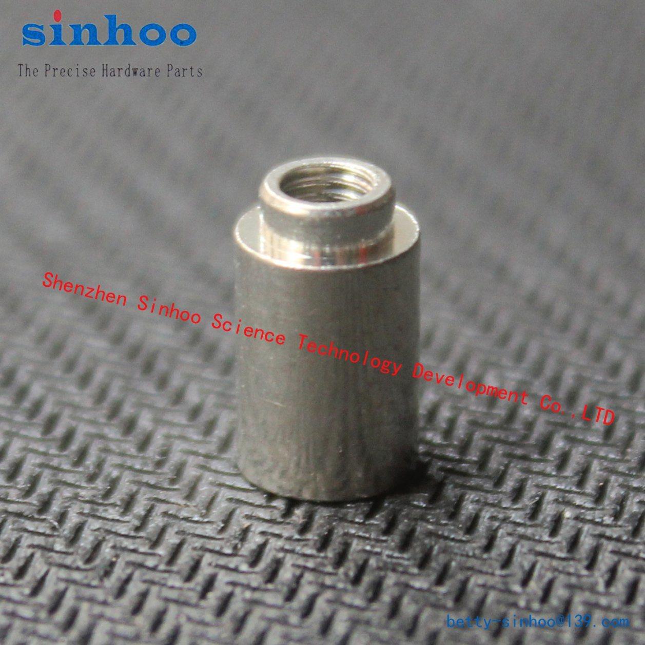 Smtso-M2-10et Standoff Weld Nut Solder Nut, Brass, Reel, Round Nut