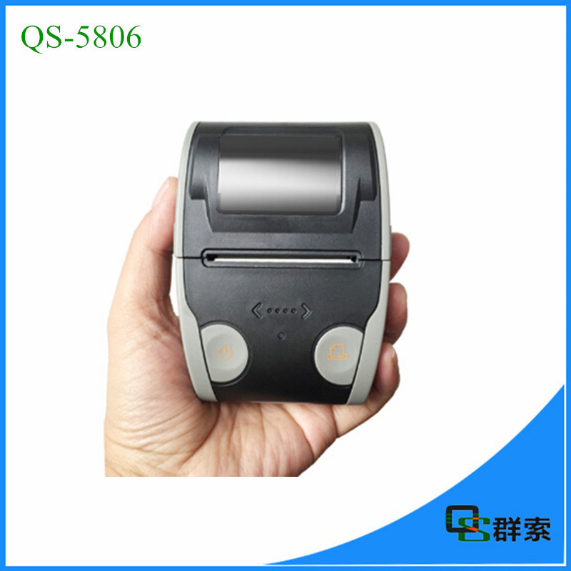 Handheld Android Mini Bluetooth Receipt Printer Rugged for Logistics