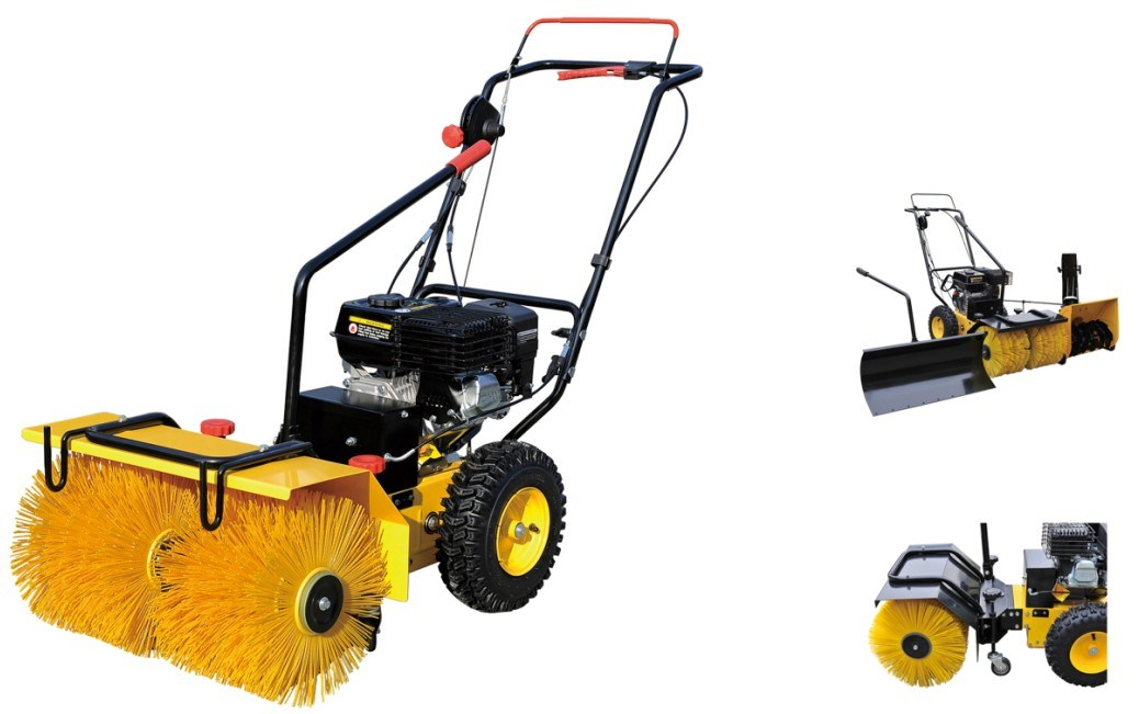 Hot Selling 5.5HP Loncine Power Gasoline Snow Sweeper (SSG5562)