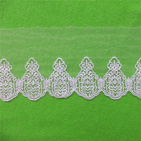 African Embroidery 100% Lace Trim (C01)