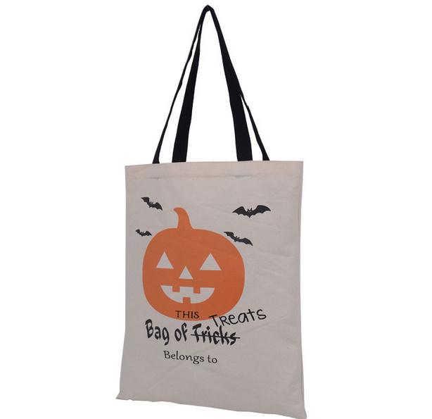 Halloween Eco Friendly Cotton Tote Bag