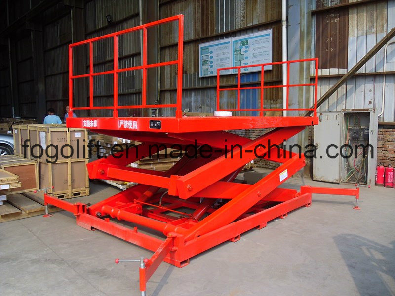 Heavy Duty Cargo Loading and Unloading Lift