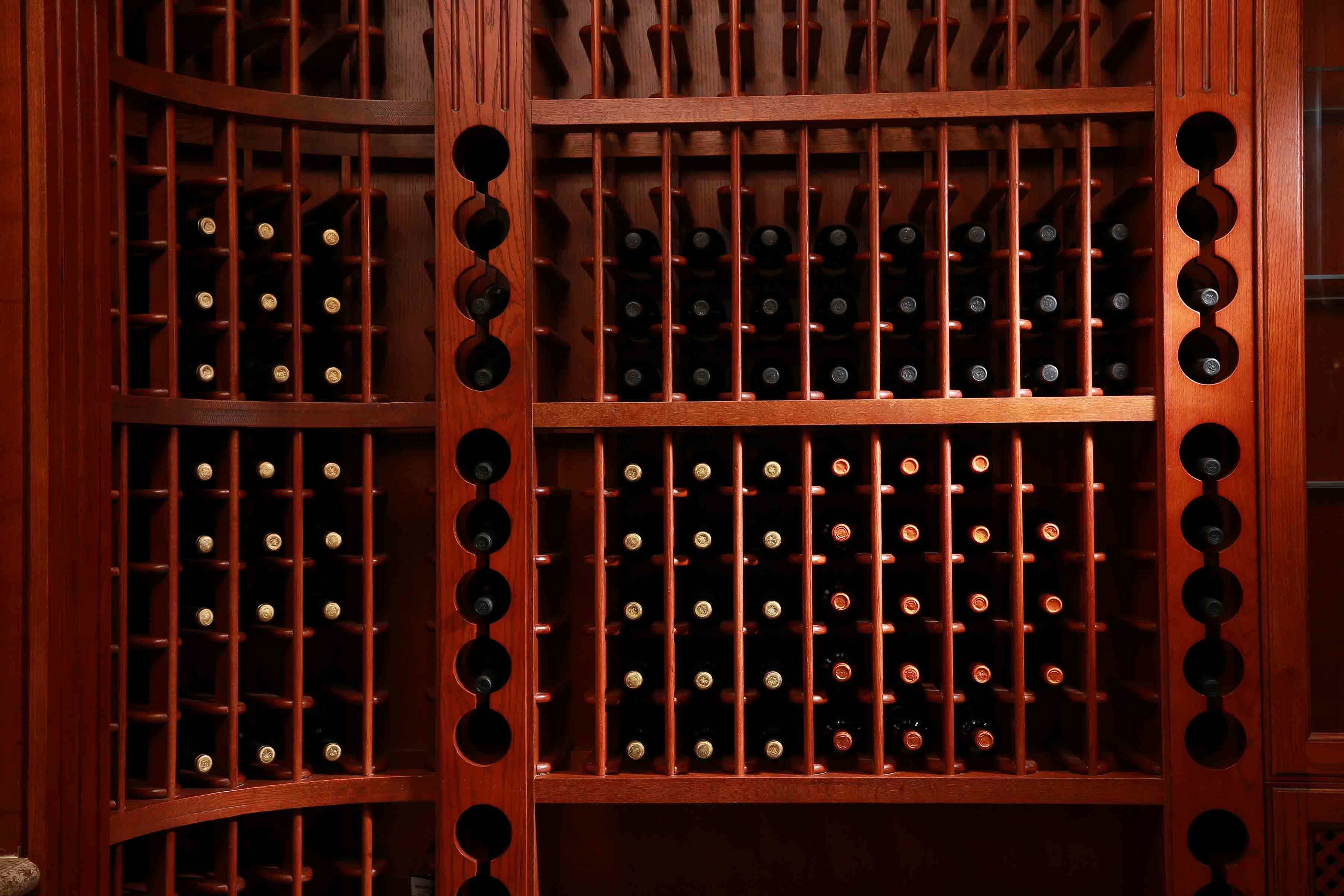 Welbom High End Solid Wood Wine Cellar