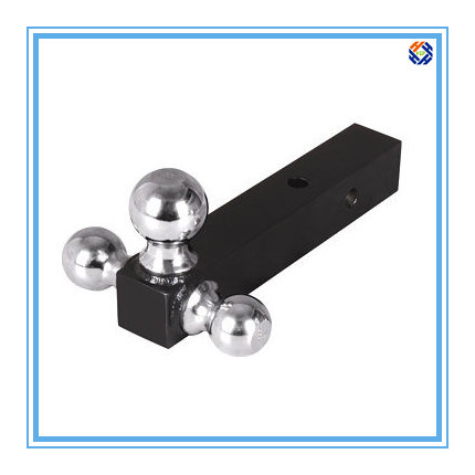 Hitch Ball Trailer Part with Black-Coated Surface Treatment