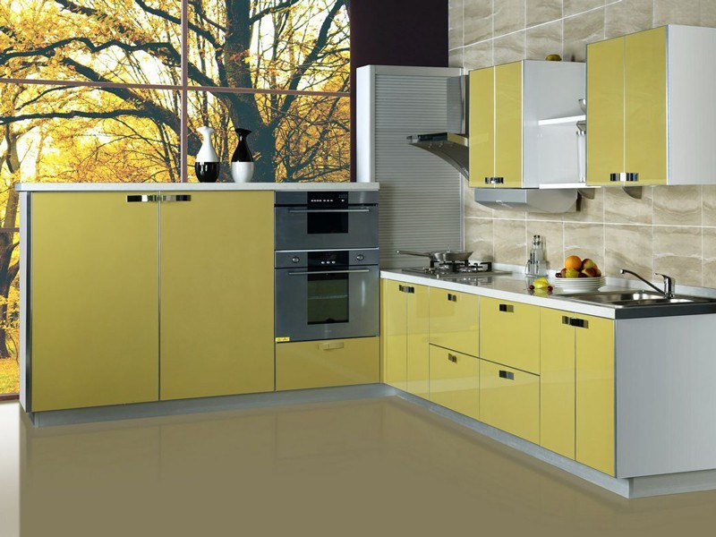 Chinese Kitchen Cabinet Factory Price Kitchen Furniture Aluminium ...