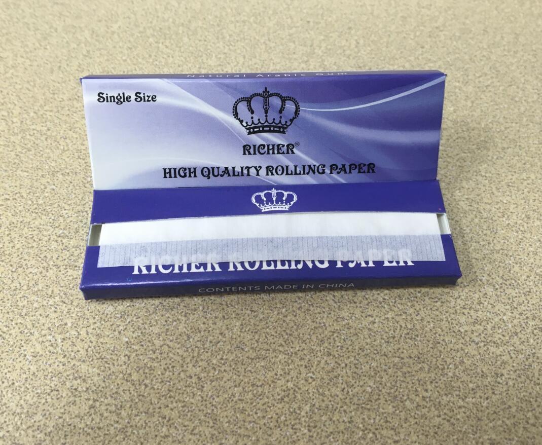 Single Size Smoking Rolling Paper Rice Paper