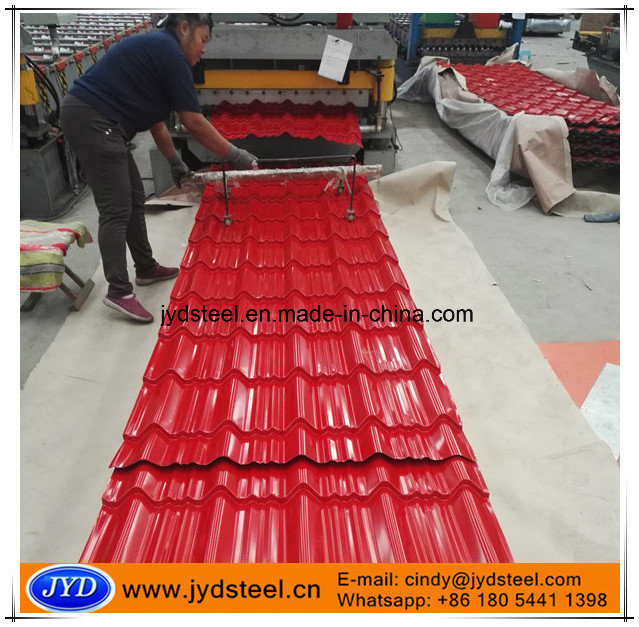 Color Glazed Metal Roof Tile