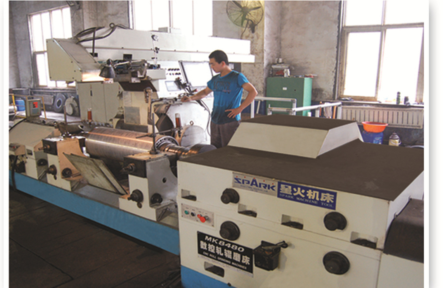Alloy Smashing Roll for Beer Production