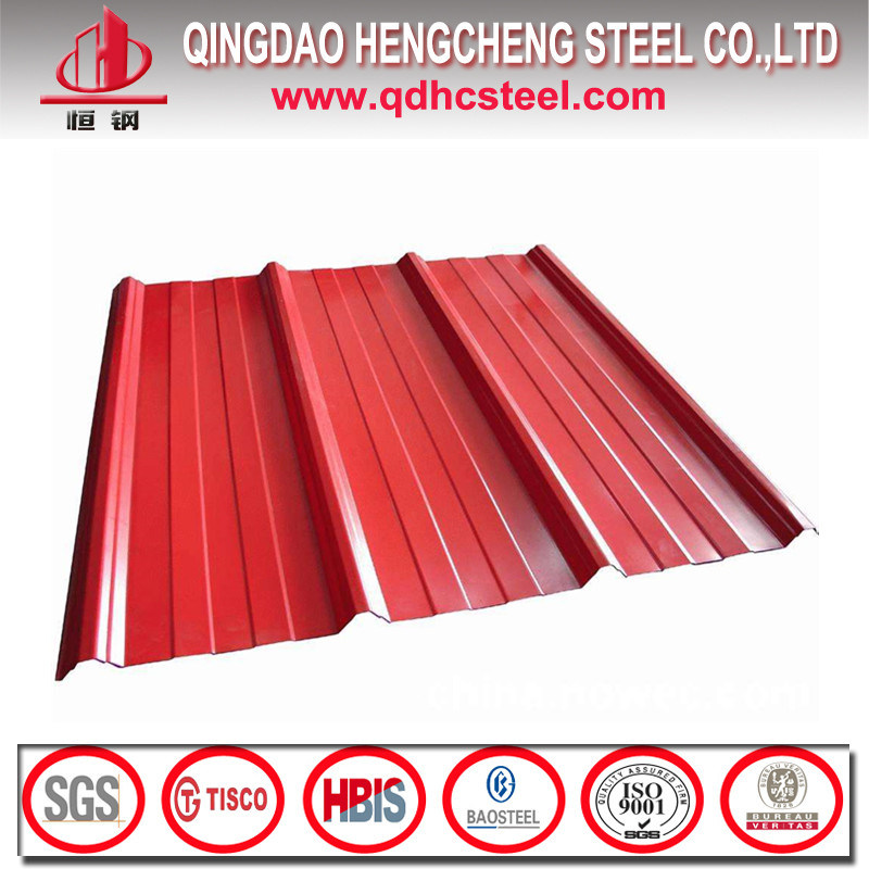 Color Coated Zinc Corrugated Steel Roofing Sheet