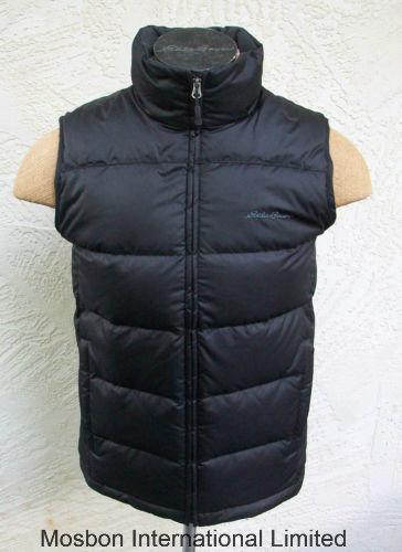 Mens Classic Down Vest Deep Black Jacket