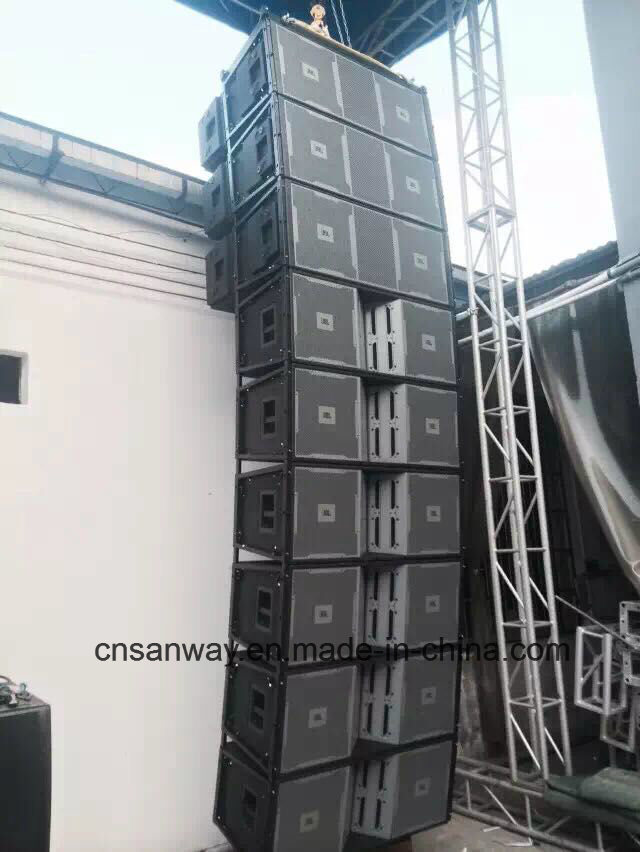Vt4889 Dual 15 Inch Outdoor Line Array System, High Output PRO Line Array Audio Speaker