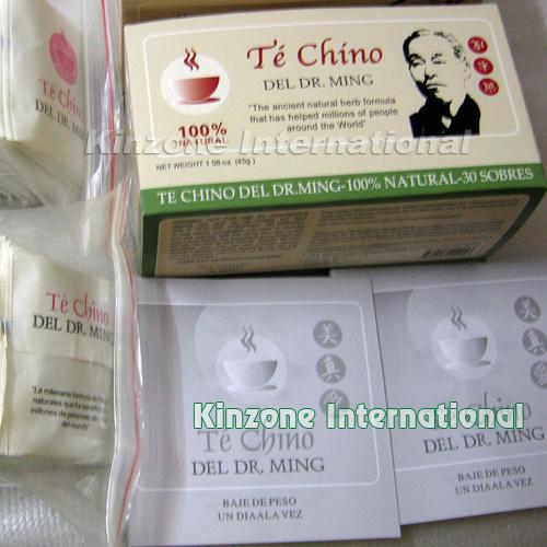 Te Chino Del Dr Ming Slimming Tea 30/ 60 Bags Package