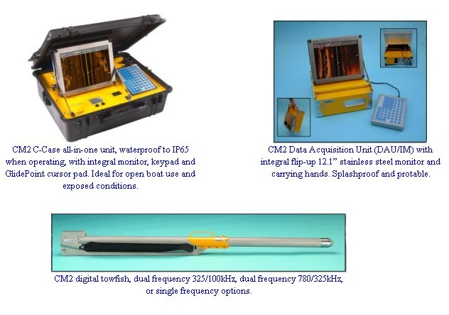 CM2 Side Scan Sonar System (DAU & Tow Fish)