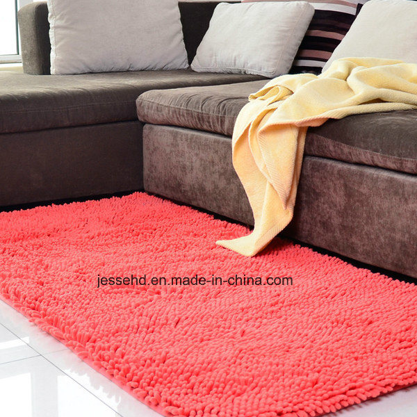 High Quality Living Room Microfiber Polyester Shaggy Handmade Rug