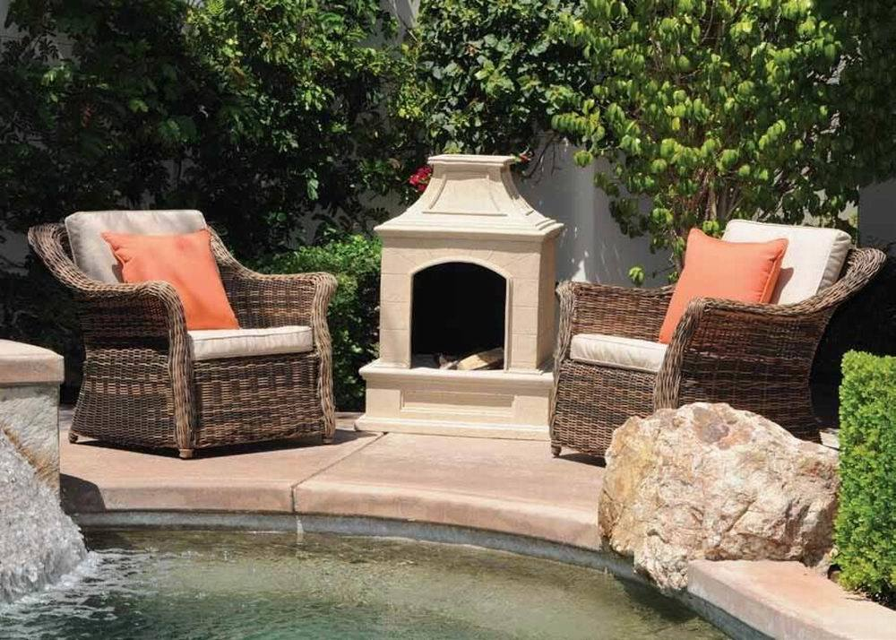 Blue Rhino - LP Gas Outdoor Fireplaces