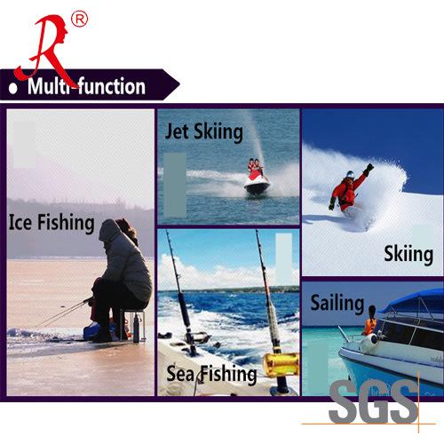 Winter Quilted Sea Fishing Bib Pants (QF-9077B)